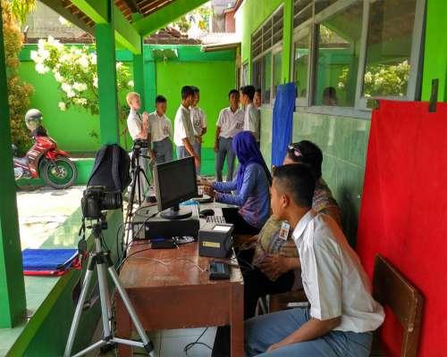 Jemput Bola Perekaman KTP-El Sekolah